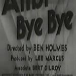 Alibi Bye Bye (1935)