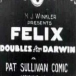 Felix the Cat: Felix Doubles for Darwin (1923)