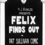 Felix the Cat: Felix Finds Out (1924)
