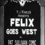 Felix the Cat: Felix Goes West (1924)