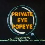 Popeye: Private Eye Popeye (1954)