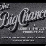 The Big Chance (1933)