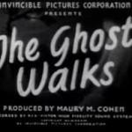 The Ghost Walks (1934)