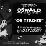 Oswald Rabbit: Oh Teacher! (1927)